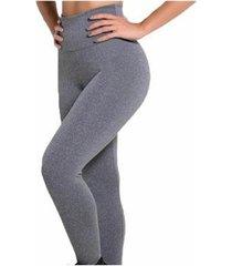 kit 2 calça leggings cós alto feminina