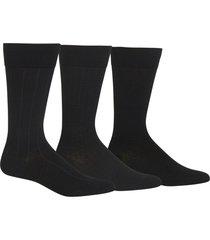 men's polo ralph lauren dress socks, size one size - black