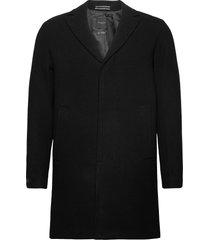 slhhagen wool coat b noos yllerock rock svart selected homme