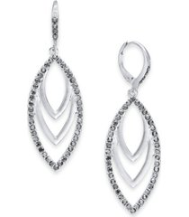 inc drop navette earrings, created for macy's
