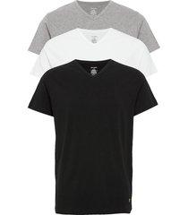 parker t-shirts short-sleeved multi/patroon lyle & scott