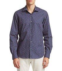 collection floral print cotton shirt