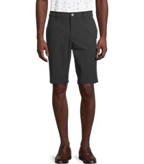 callaway men's cotton-blend shorts - dark grey - size 38