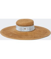 river island womens brown rir oversized sun hat