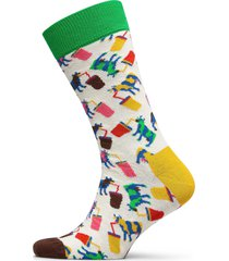milkshake cow sock underwear socks regular socks multi/mönstrad happy socks
