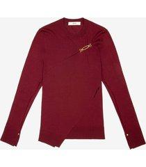 1851 sweater burgundy 40