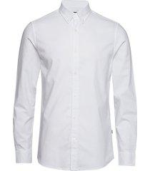 oxford sawsett overhemd casual wit mads nørgaard