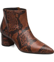 to the moon and back shoes boots ankle boots ankle boots with heel brun anny nord