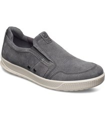 byway loafers låga skor grå ecco