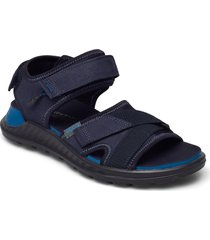 exowrap m shoes slippers sandals blå ecco