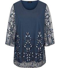 shirt m. collection blauw::marine
