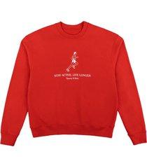 live longer crewneck sweatshirt