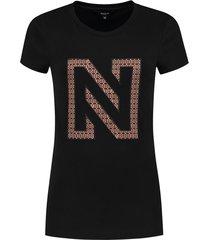 n printed logo shirt