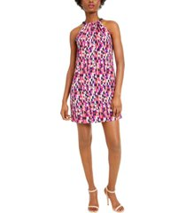 trina trina turk juju bow-back halter dress