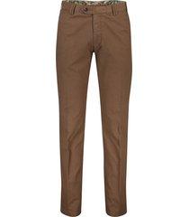 meyer pantalon bonn bruin structuur