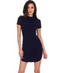 ax paris curved hem bodycon mini dress