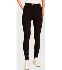 jeans ash pitillo negro - calce ajustado