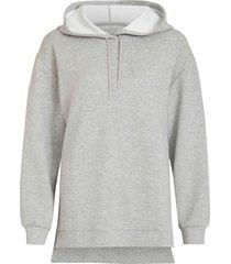 huvtröja visif l/s slit hoodie