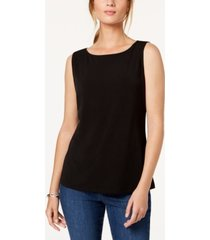 charter club boat neckline top, created for macy's