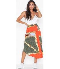 ax paris patterned skirt midikjolar