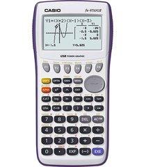 calculadora casio fx-9750gii puerto usb pantalla monocromatica blanca