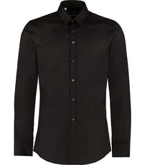 dolce & gabbana stretch poplin shirt