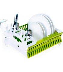 escorredor de louça thata esportes pratos copos dobrável plástico