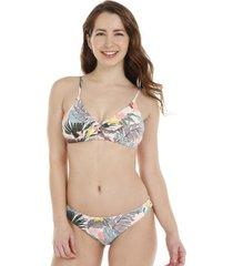 bikini tropical con amarra h2o wear