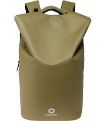 mochila de hombre. impermeable moda mochila hombres-amarillo