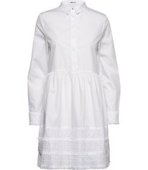 dress korte jurk wit replay