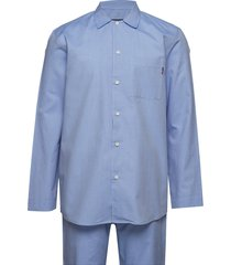 alexis unisex pajama pyjama blauw lexington home