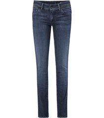 skinny jeans salsa jeans slim push-up wonder bleu 124245