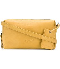 marsèll rectangular versatile clutch bag - yellow