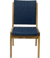 cadeira gabrielle fibra sintética