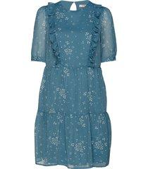 cindygz short dress korte jurk blauw gestuz