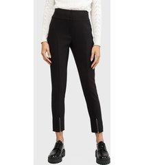 pantalón io  negro - calce skinny