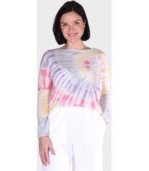 les tricots de lea trui malove multi pastel