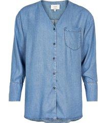 numph blouse nubuen, denim