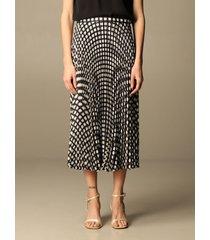 theory skirt theory skirt with geometric pattern