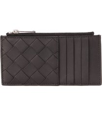 bottega veneta woven leather wallet
