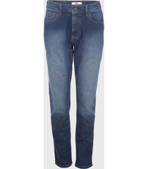 jeans m f 18 straight/varsity azul tommy hilfiger
