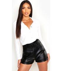 woven shirt, white