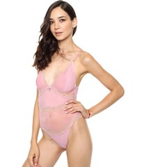 body rosa playboy intimates glossy