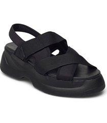 essy shoes summer shoes flat sandals svart vagabond