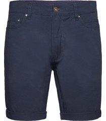 sdpovl 5-pocket jeansshorts denimshorts blå solid