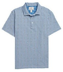 1905 collection tailored fit sailboat short sleeve men's polo shirt clearance