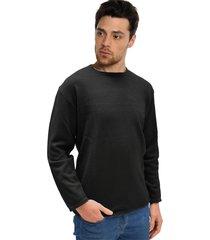 sweater negro vinson control
