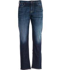 emporio armani stonewashed jeans