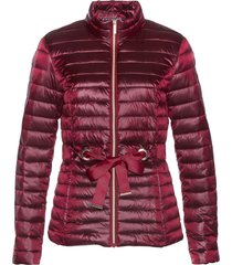 giacca trapuntata lucida (rosso) - bpc selection