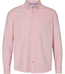 kronstadt overhemd johan oxford washed pink ks2796